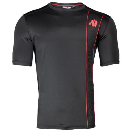 Branson T-Shirt, Black/Red