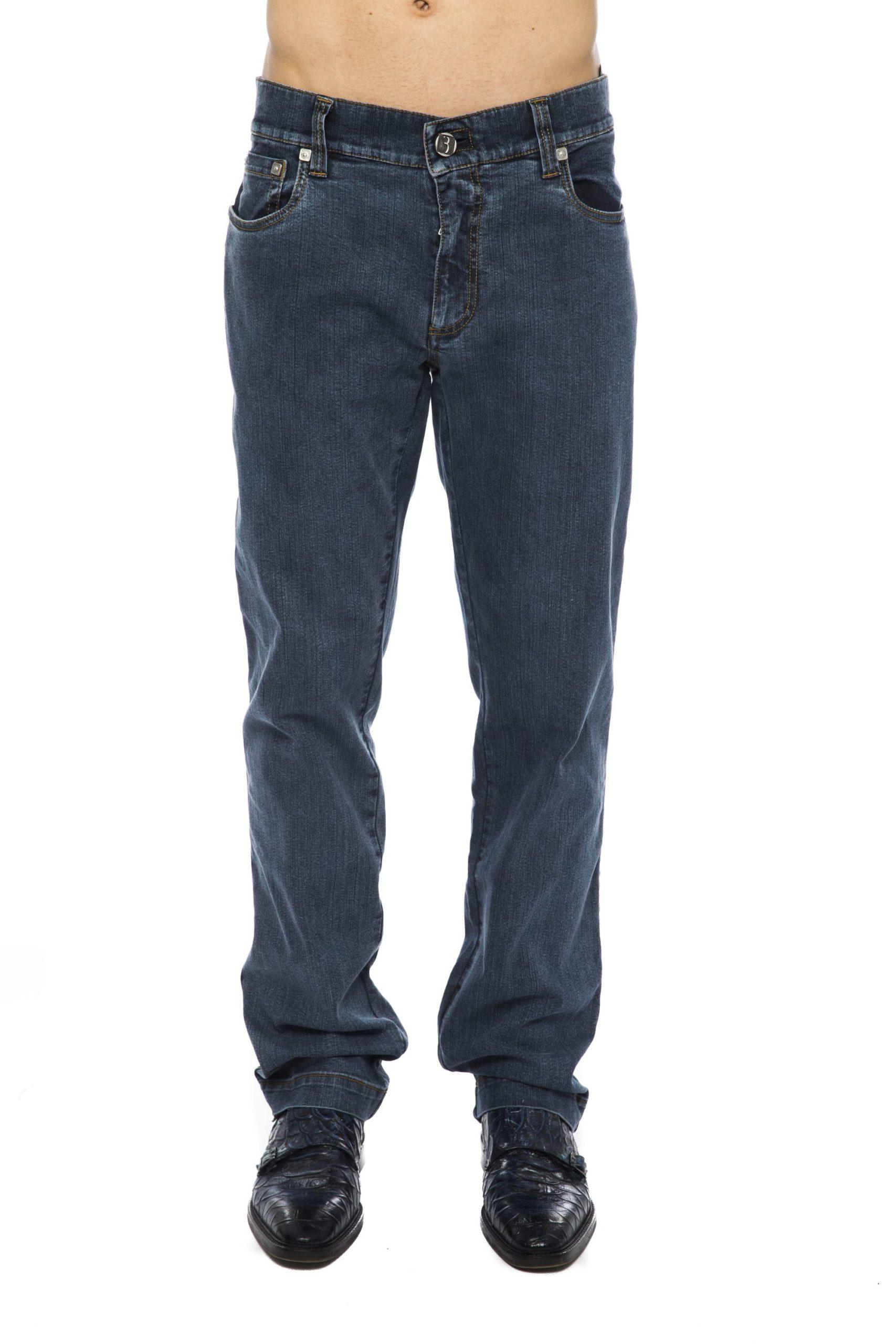 Billionaire Italian Couture Men's Jeans Blue BI1264046 - IT52   L