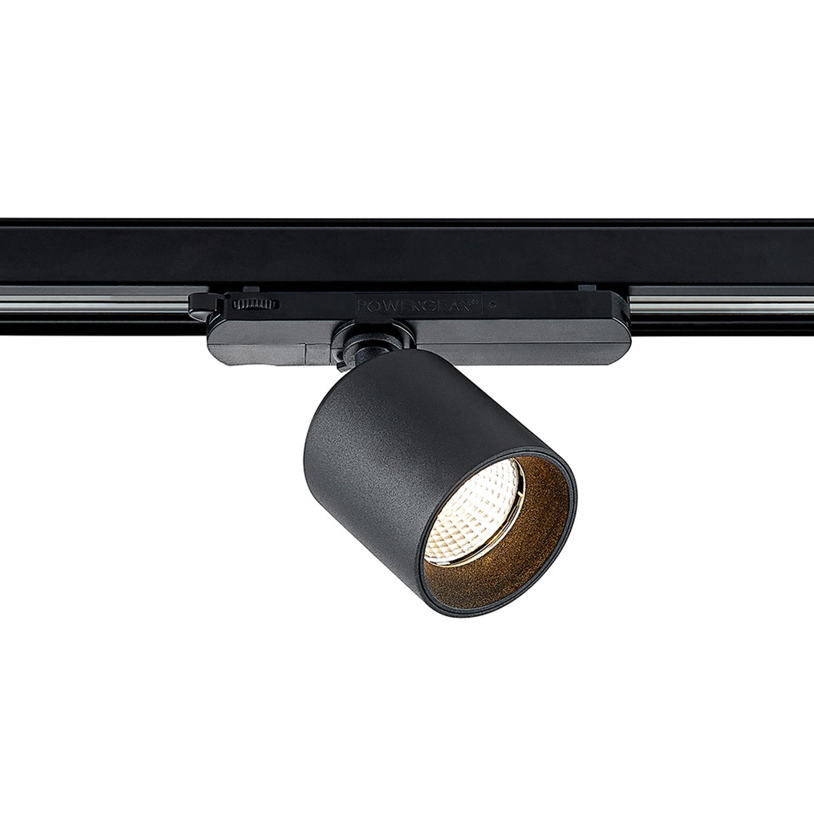 Arcchio Candra -LED-kiskospotti musta 17W 3 000 K