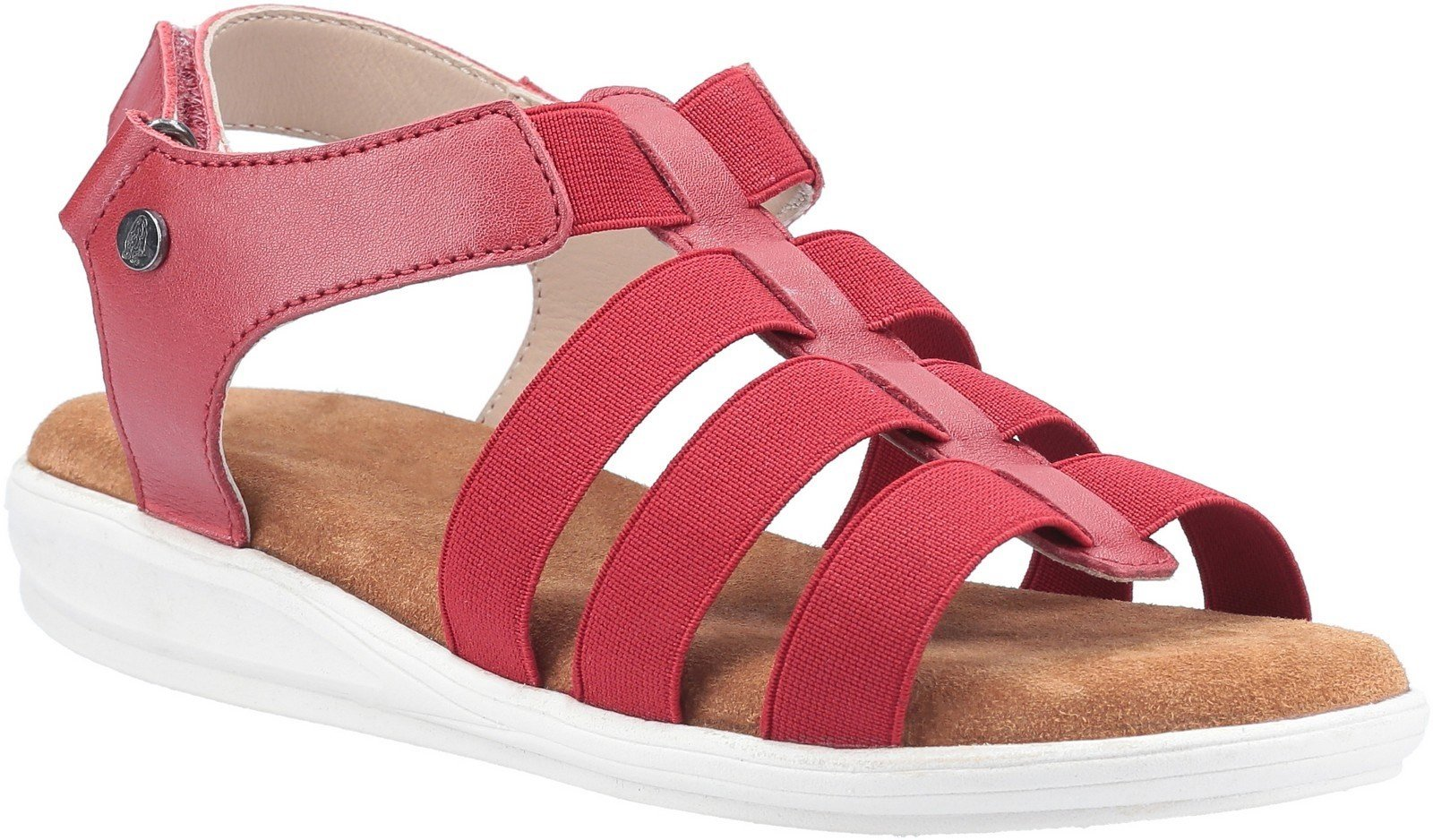 Hush Puppies Women's Hailey Gladiator Sandal Various Colours 30222 - Red 3