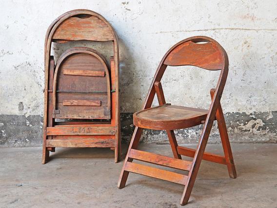Vintage Red Chair Medium