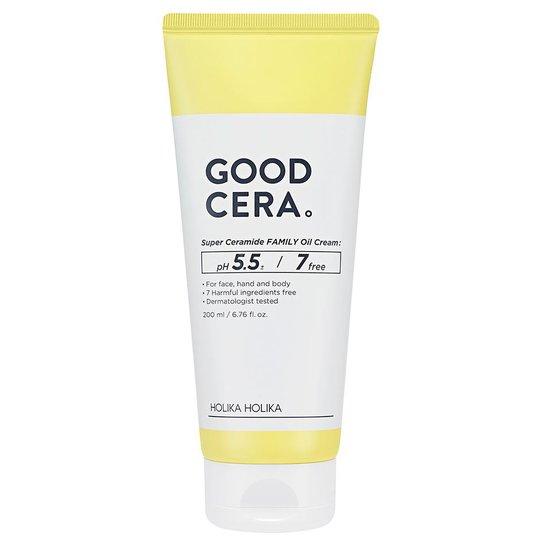 Good Cera Super Ceramide Family Oil Cream, 200 ml Holika Holika Päivävoiteet