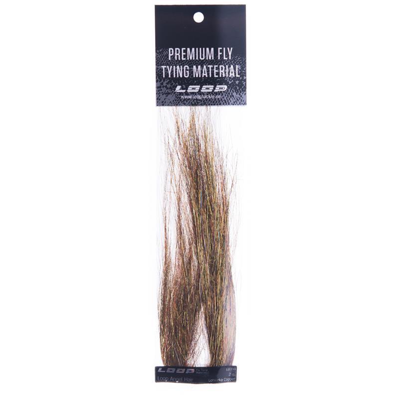 Loop Angel Hair 2g - Lohkinka Copper Fremragende fiberflash!