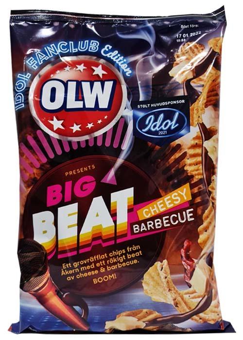 OLW Idol Cheesy Barbecue - LTD Edition 250g