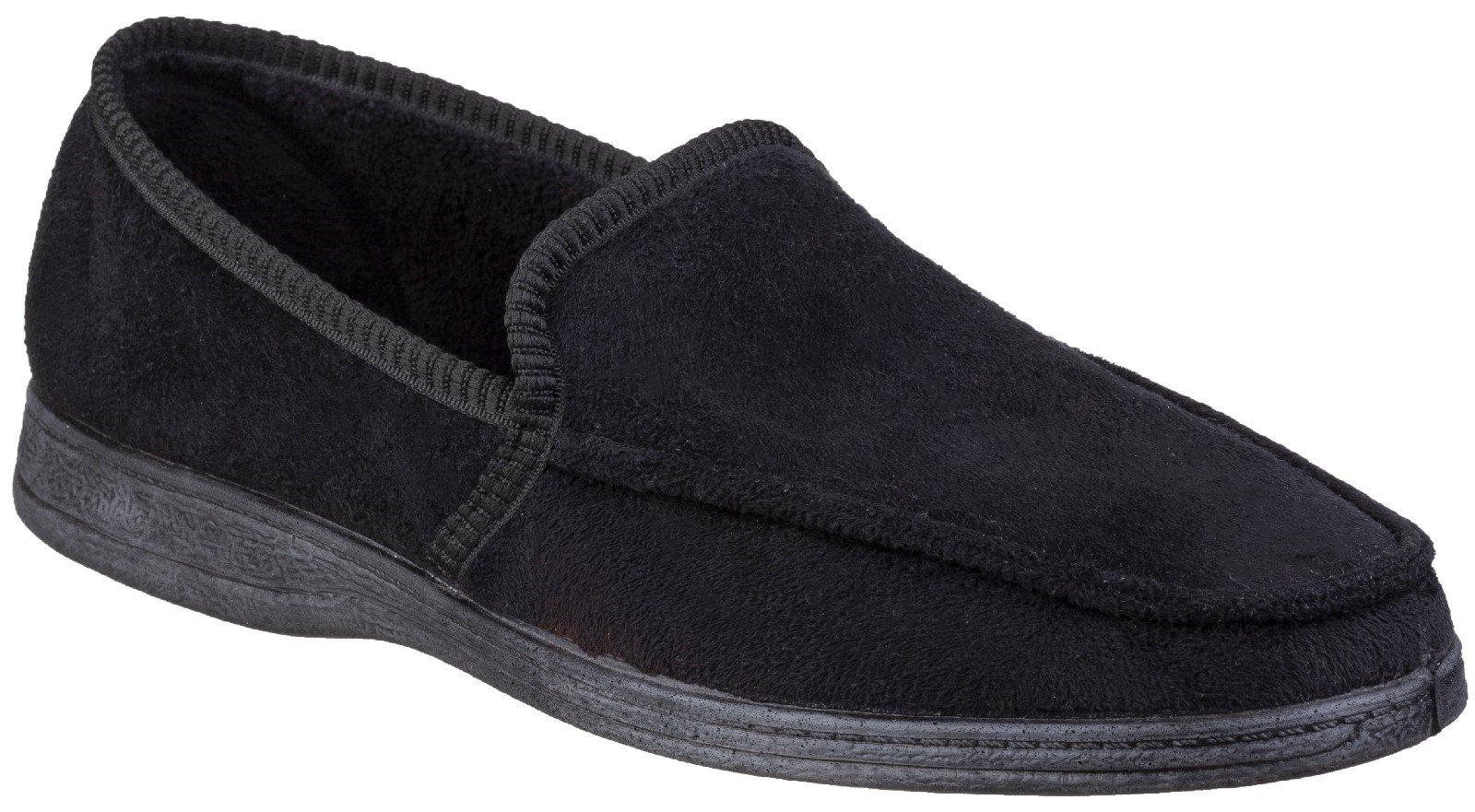Fleet & Foster Men's Dakis Slip On Loafer Brown 27209-45757 - Black 6