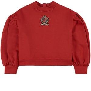 Dolce & Gabbana Logo Crest Tröja Röd 4 år