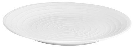 Blond Tallerken Hvit/Stripe 22 cm