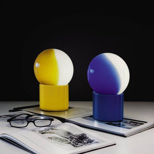 Martinelli Luce Pulce bordlampe, blå