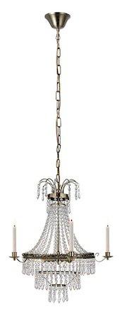 Marielund Taklampe 3 Lys Antikk