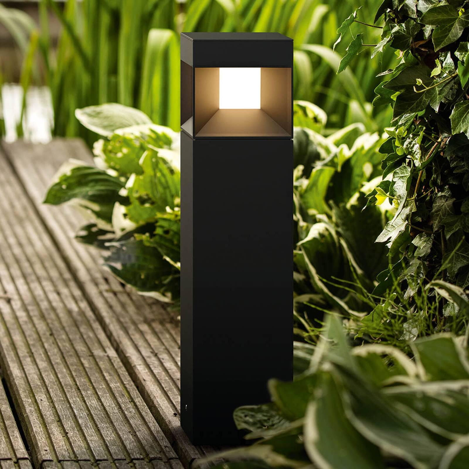 Hienostunut LED-pollarivalaisin Parterre