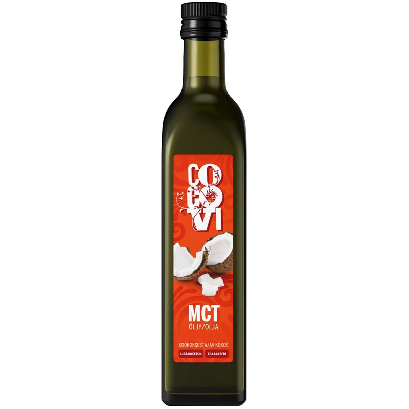 MCT-Öljy 500ml - 33% alennus