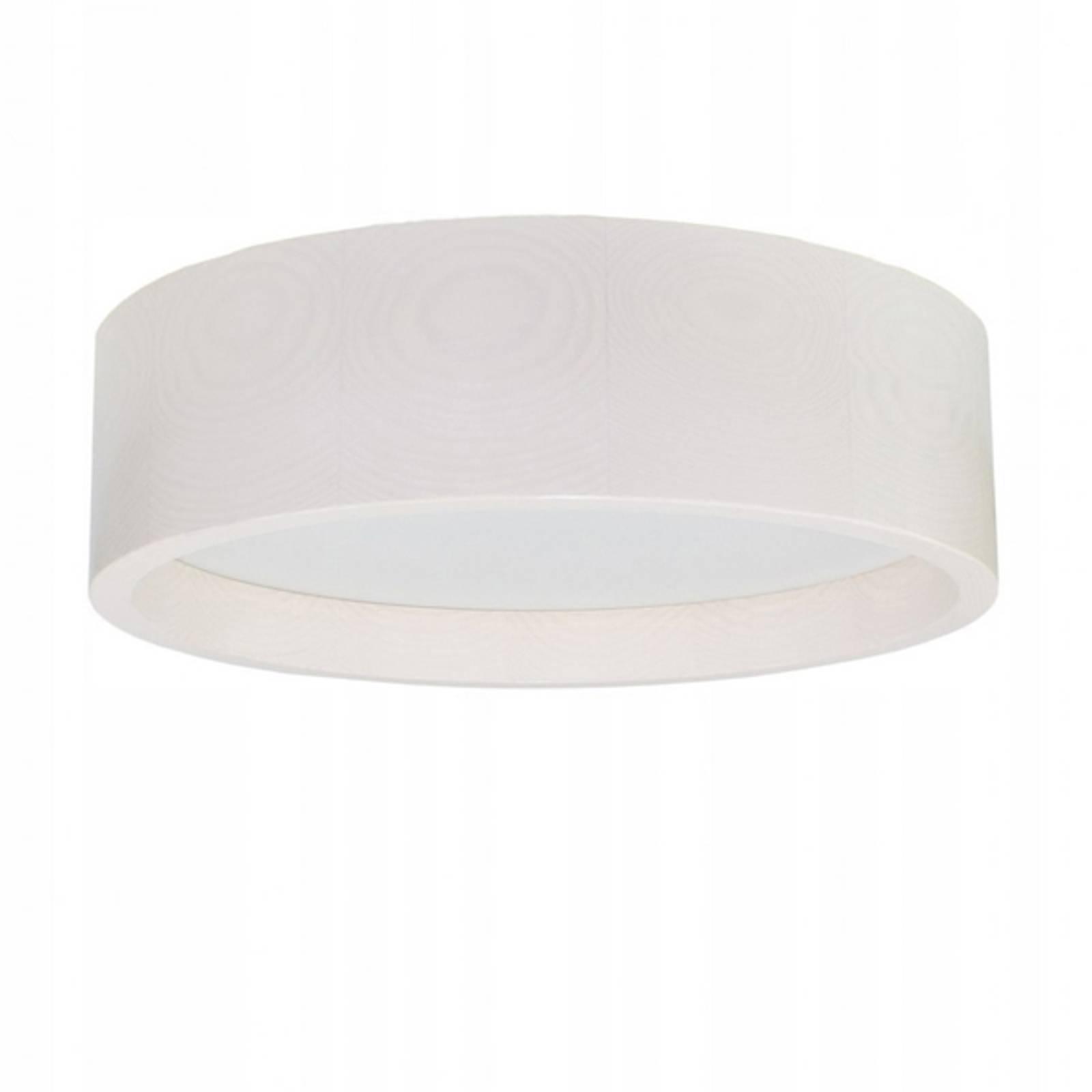 LED-kattovalaisin Deep, Ø 38 cm, valkoinen