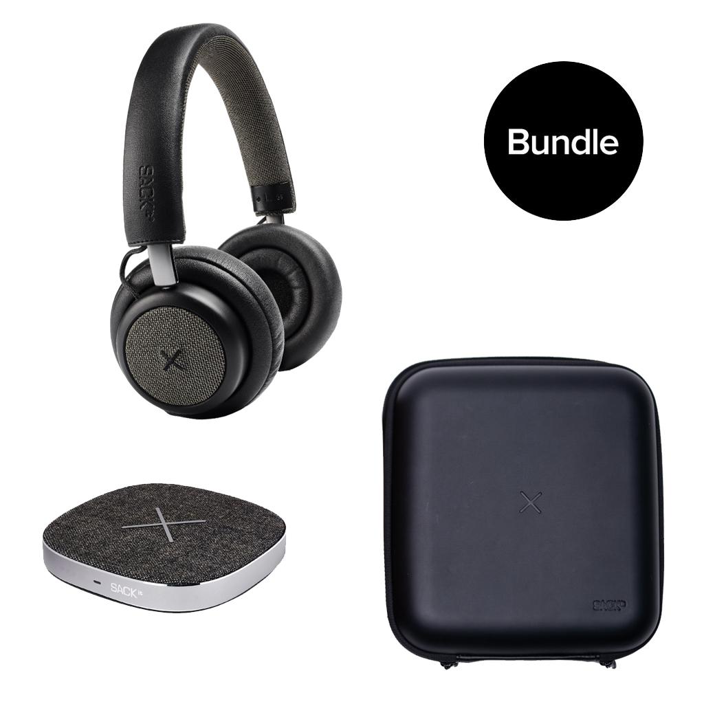 SACKit - TOUCHit Headphone + CARRYit Case + CHARGEit Dock - Bundle