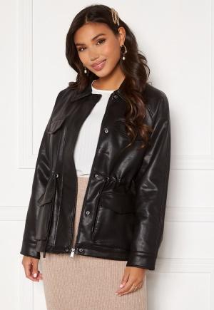 VERO MODA Jill Coated Jacket Black S