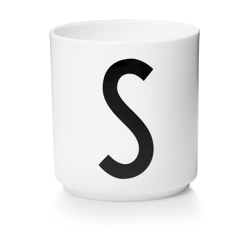 Design Letters - Personal Porcelain Cup S - White (10201000S)
