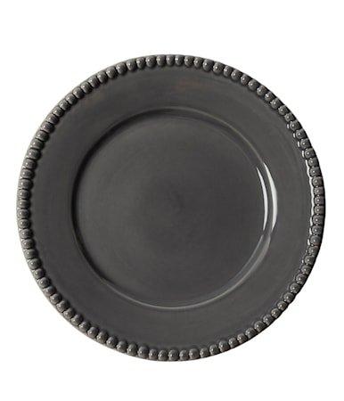 DARIA Middagstallerken Grå 28 cm 2-pakning