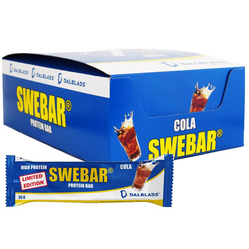 Hel Låda Proteinbars Cola 20 x 55g - 55% rabatt