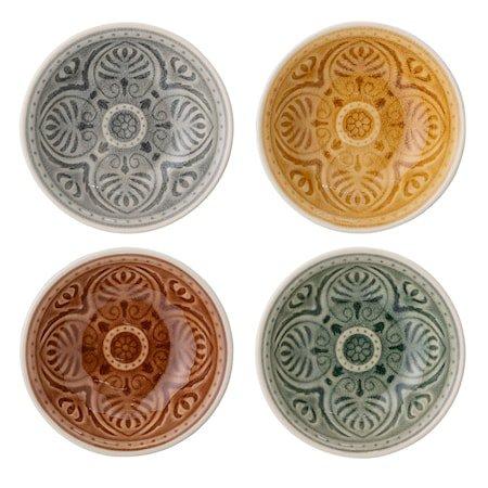Rani Skåler Multi-color Steingods