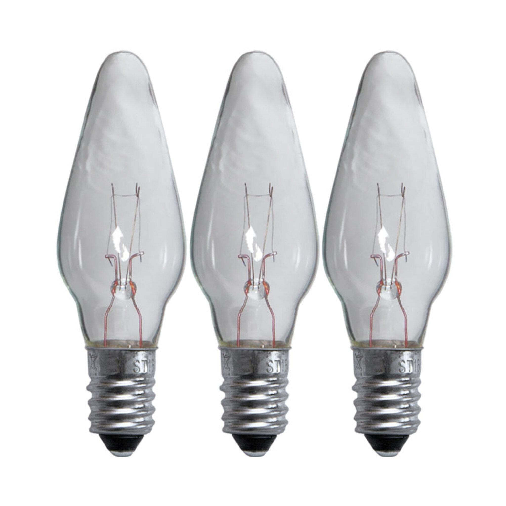 Reservlampa 3-pack, LED, till 5-armade ljusstakar