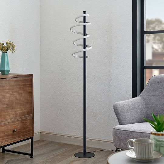 Lucande Kimri LED-gulvlampe