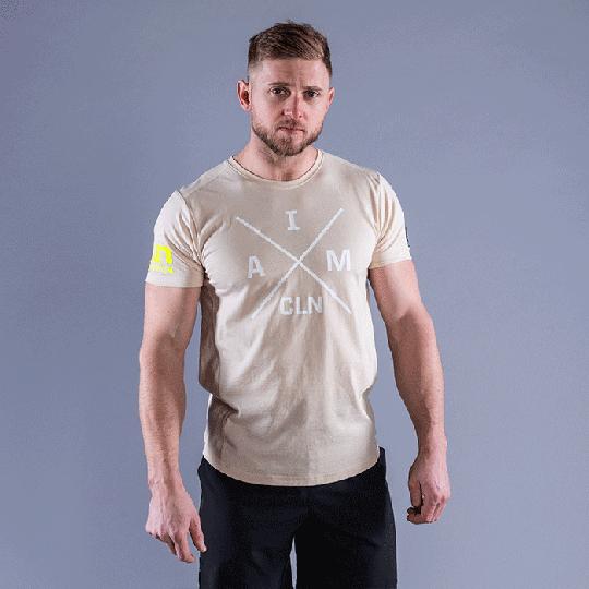 CLN Instructor T-shirt, Sand