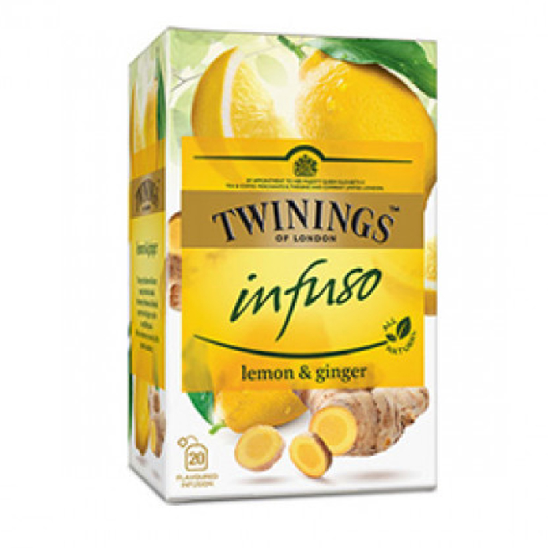 """Te """"Lemon & Ginger"""" 20 x 1,5g - 33% rabatt"""