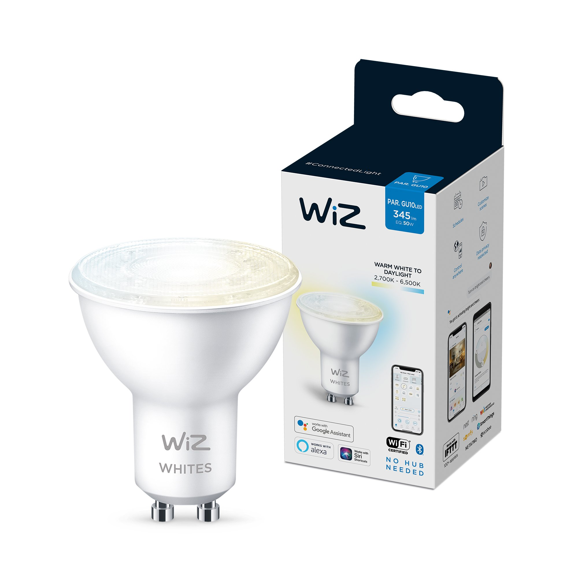 WiZ - Spot GU10 Tunable white - Smart Home