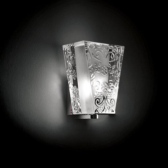 Huippulaadukas seinävalaisin VICKY, 1-lamppuinen