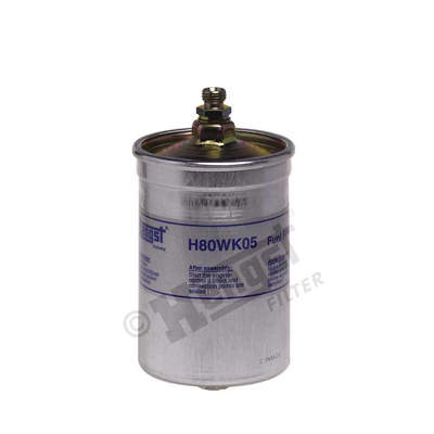 Polttoainesuodatin HENGST FILTER H80WK05