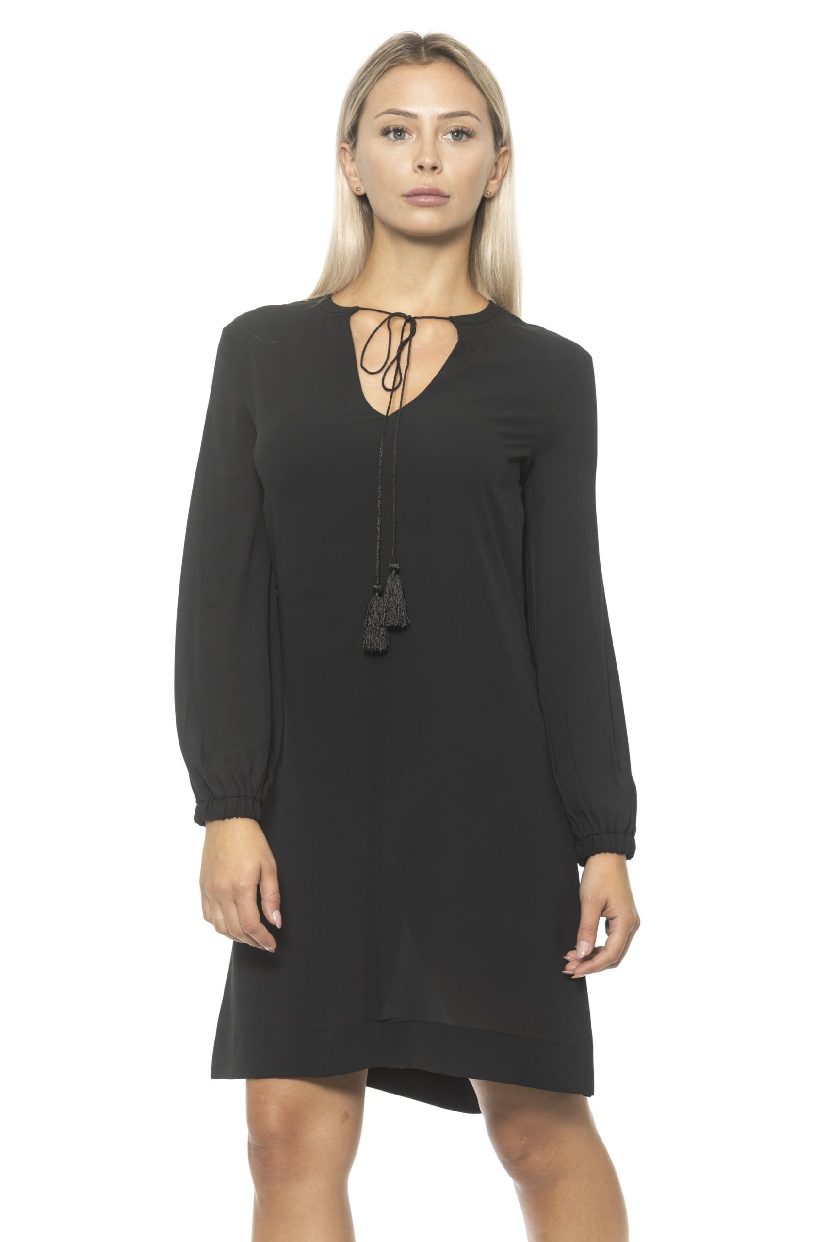 Alpha Studio Women's Nero Dress Black AL1314646 - IT40 | XS