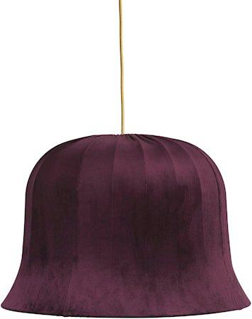 Bell Fløyel Plomme 55cm