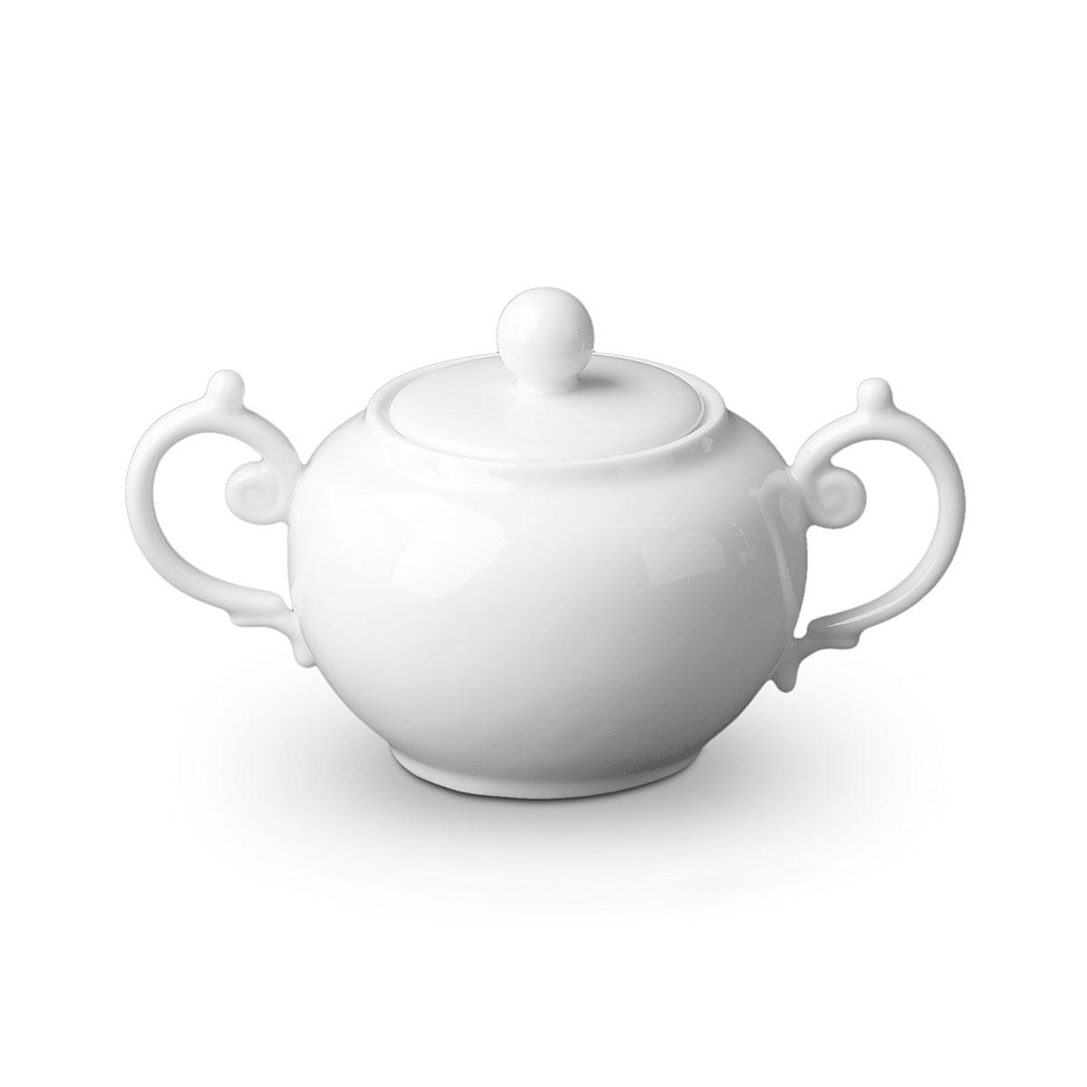 L'Objet Aegean Sugar Bowl White