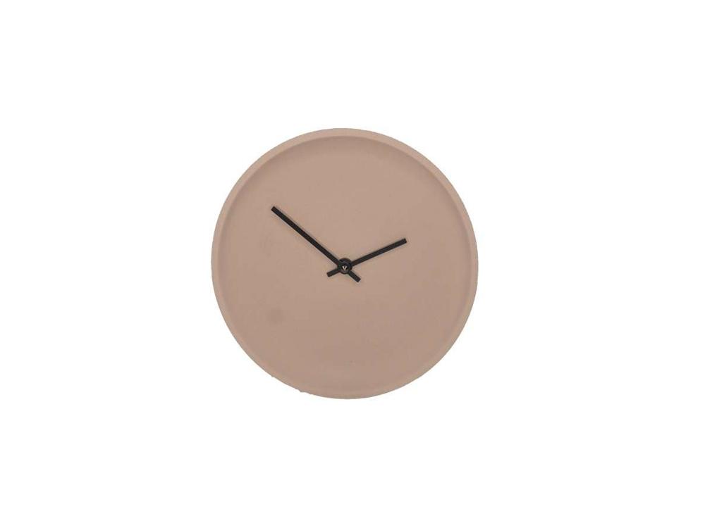 LIKEconcrete - Ida Wall Clock Ø 22 cm - Mocca (93784)