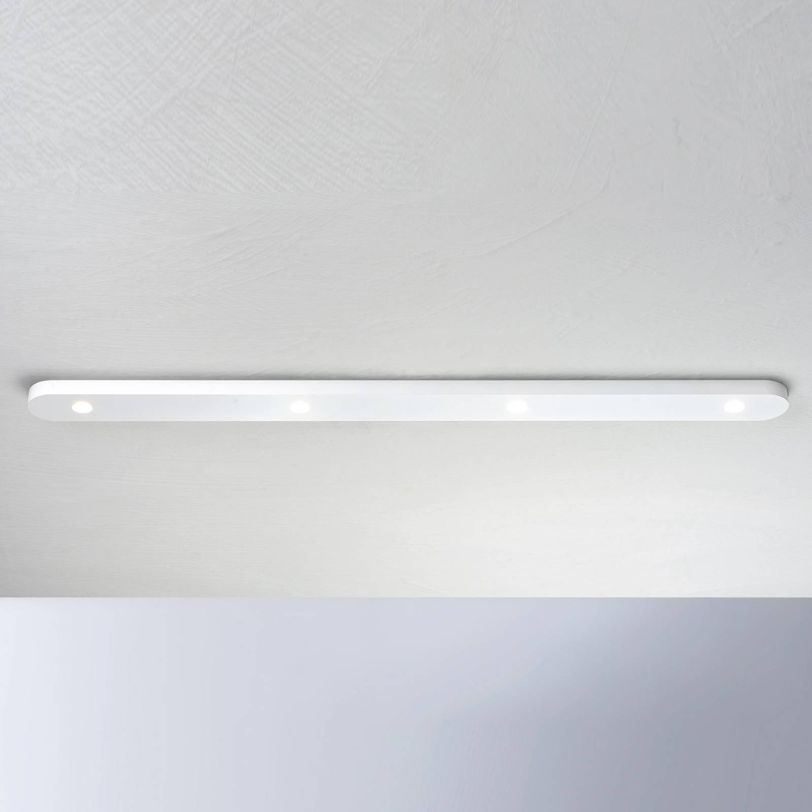 Bopp Close LED-taklampe, fire lyskilder, hvit