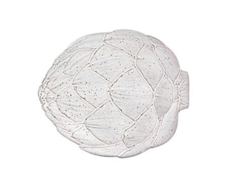 Artichoke Vit Middagstallrik 31,5 cm