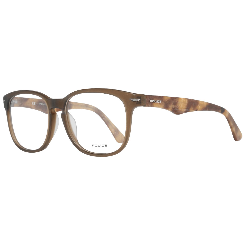 Police Men's Optical Frames Eyewear Brown VPL392 526W8M