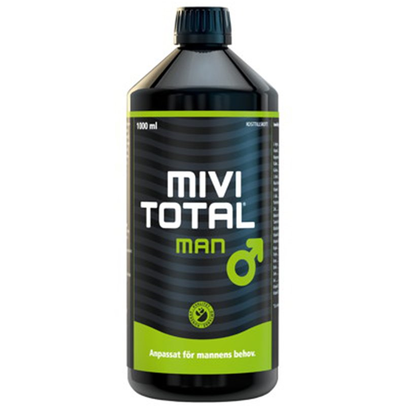 """Ravintolisä """"Mivitotal Man"""" 1l - 35% alennus"""