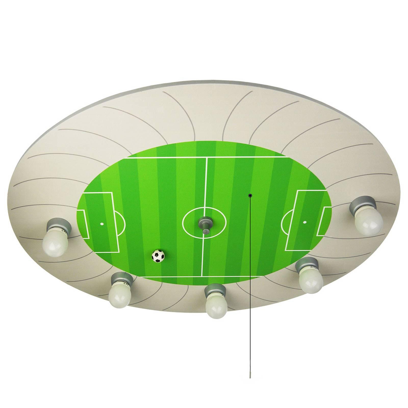 Fotballstadion taklampe med Alexa-modul