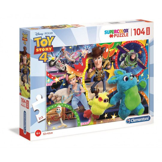 Disney Toy Story 4 Puslespill Maxi, 104 Biter