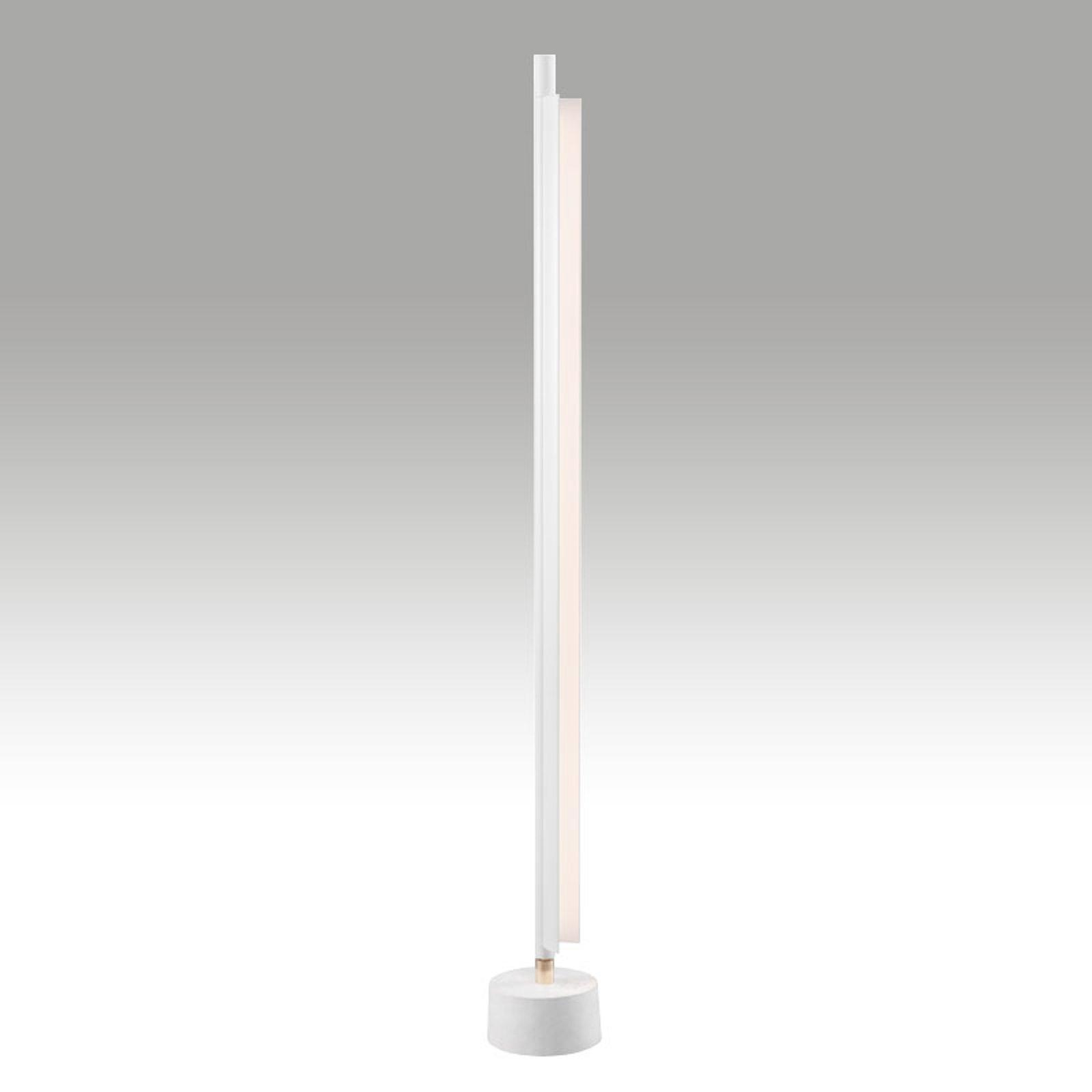 Space B - hvit LED-gulvlampe