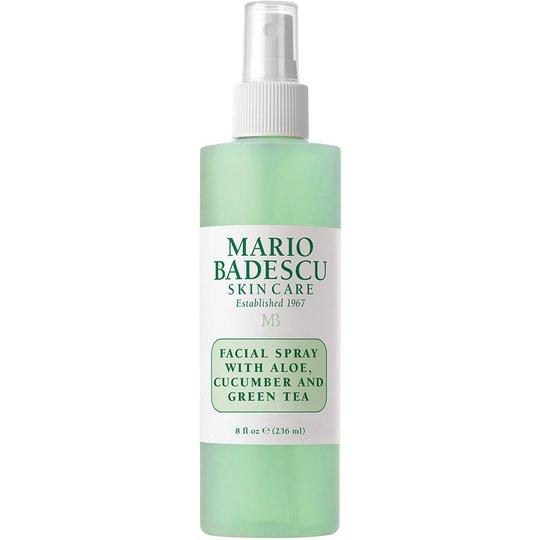 Mario Badescu Facial Spray with Aloe, Cucumber and Green Tea, 236 ml Mario Badescu Kasvovedet