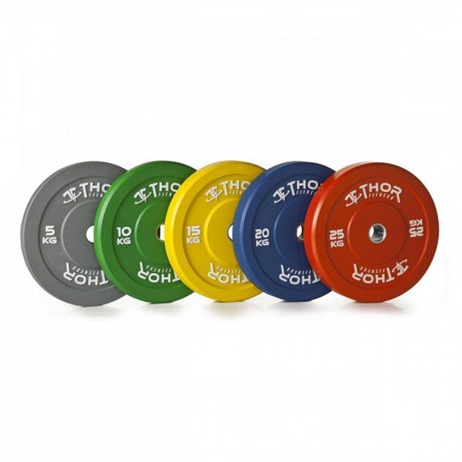 Thor Fitness Color Bumper, Viktskiva Bumper