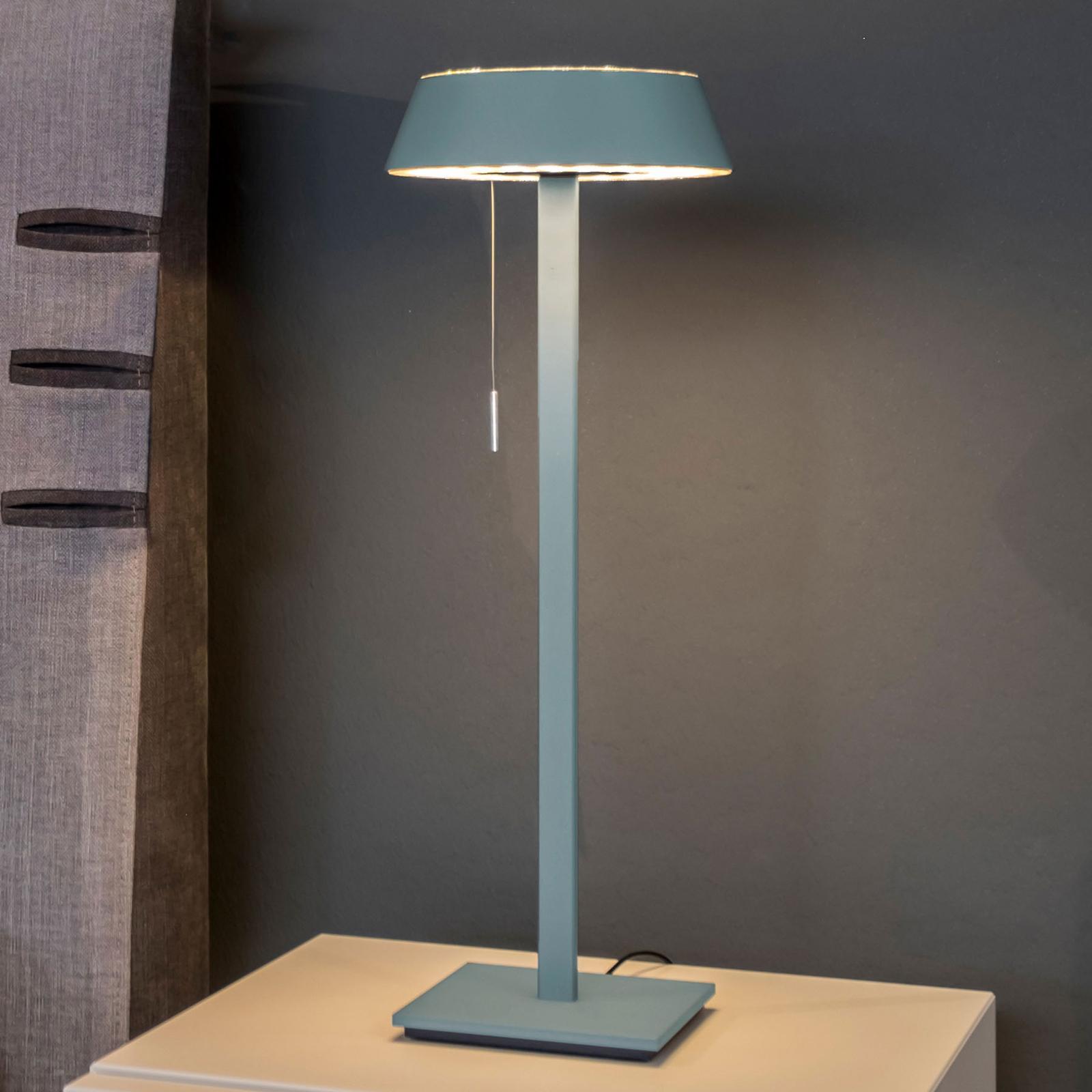OLIGO Glance LED-pöytälamppu, aquamariini