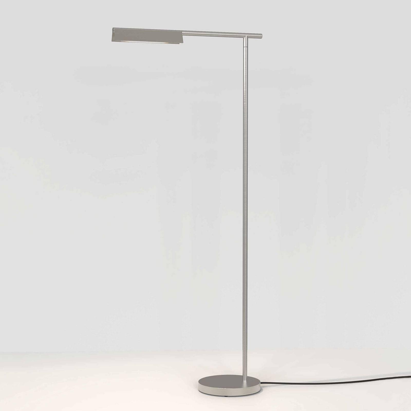 Astro Fold LED-gulvlampe, matt nikkel