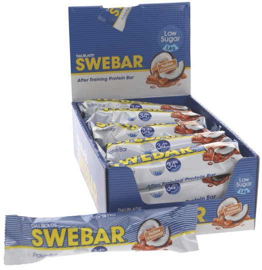 Proteinbar Toffee Coconut 18-pack - 40% rabatt
