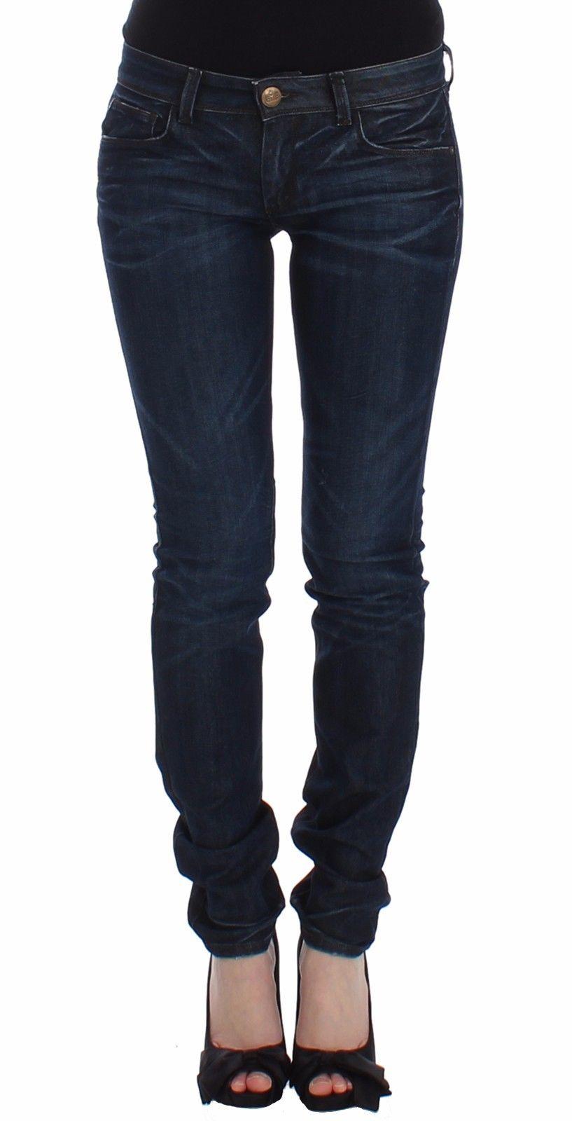 Ermanno Scervino Women's Skinny Leg Jeans Blue SIG12473 - W26