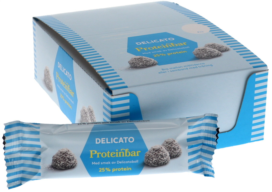 Proteinbars Delicatoboll 20-pack - 38% rabatt