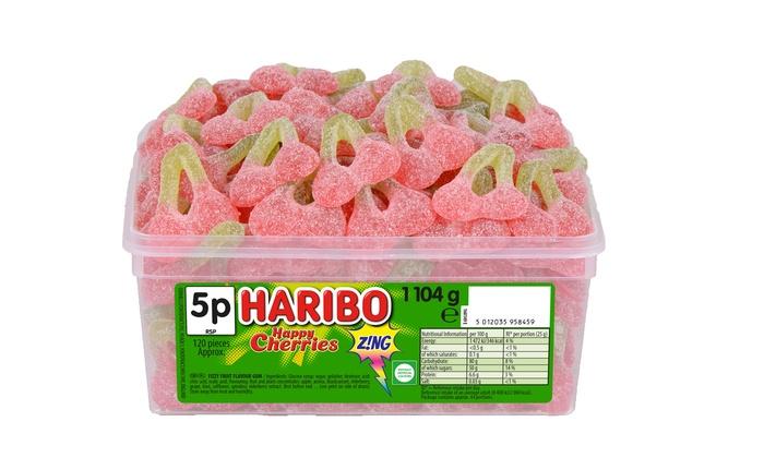 Haribo Happy Cherries 1.104kg