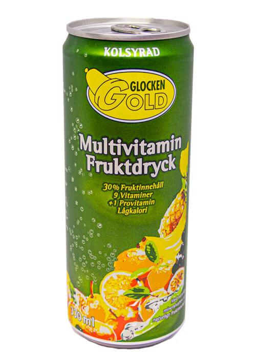 Glocken Gold Multivitamin Kolsyrad 33cl
