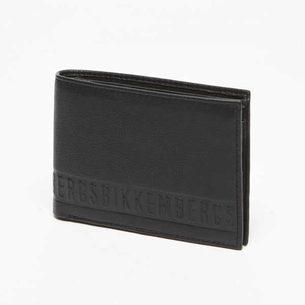 Bikkembergs Men's Wallet Black BI1432556
